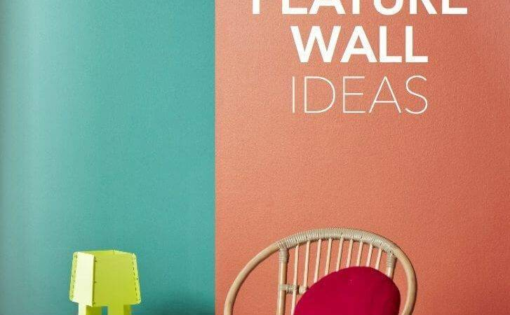 Feature Wall Ideas Bold Colours Choices Your Space