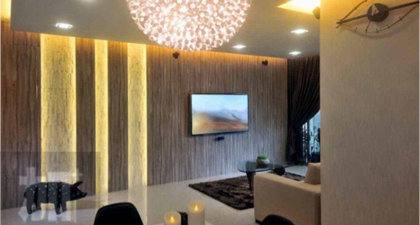 Feature Walls Living Rooms Ideas Hodge Podge