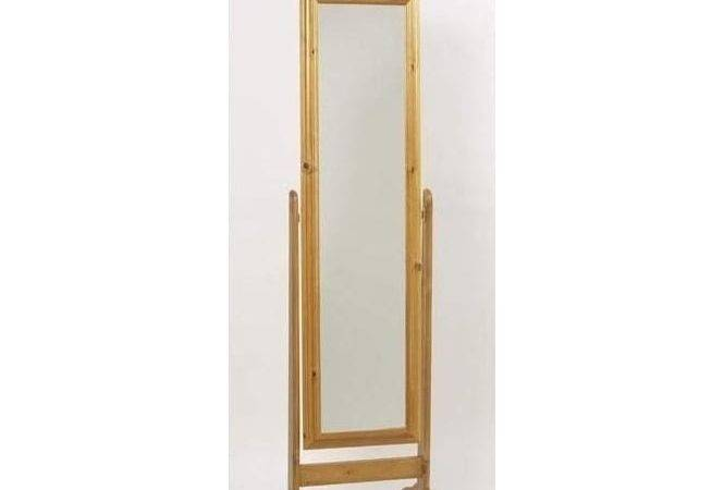 Feverfew Antique French Cheval Mirror Contemporary