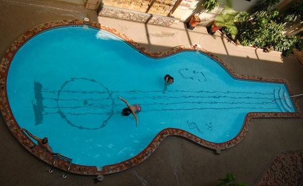 Figure Shaped Swimming Pool Designs Home Design Lover