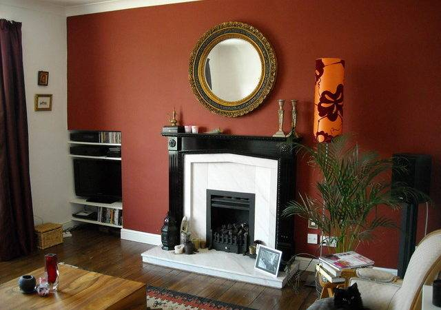 Fireplace Eclectic Living Room London