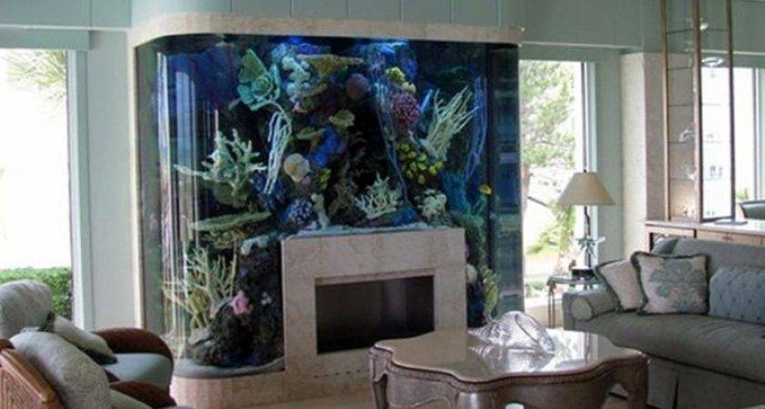 Fish Tank Living Room Catchy Office Painting