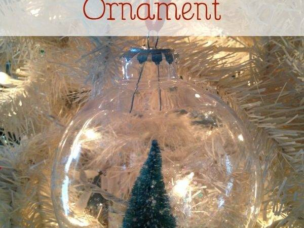 Floating Tree Holiday Ornament Diy Christmas