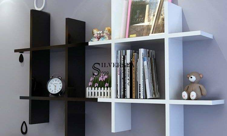 Floating Wall Shelf Display Shelves Corner Storage