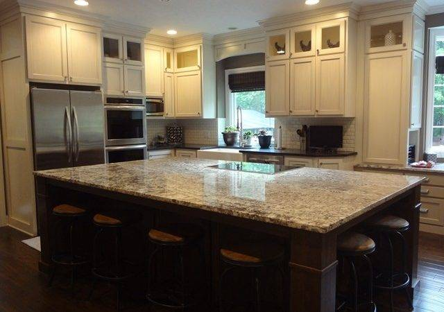 Foot Kitchen Island Design Decoration