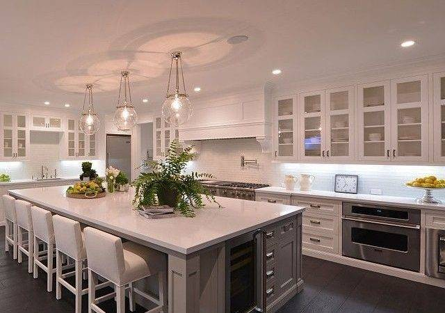 Foot Long Kitchen Islands Design Ideas
