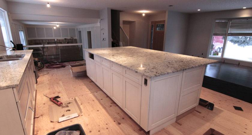 Foot Wide Kitchen Island