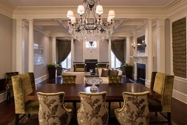 Formal Dining Room Ideas Centerpiece