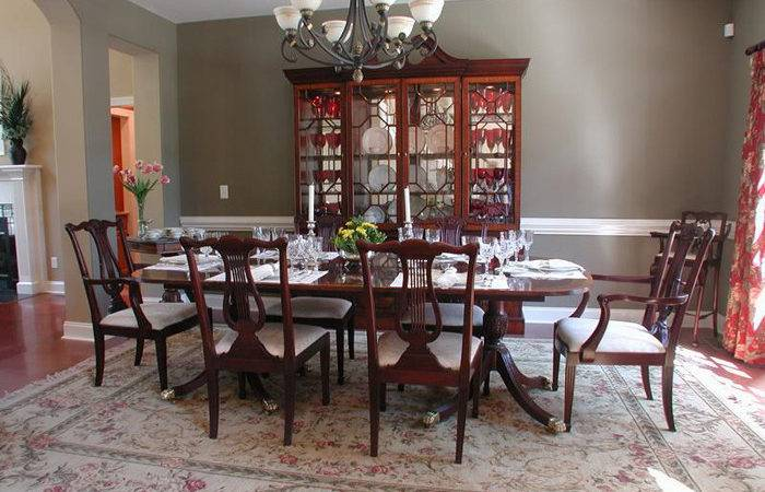 Formal Dining Table Decorating Ideas Large Beautiful
