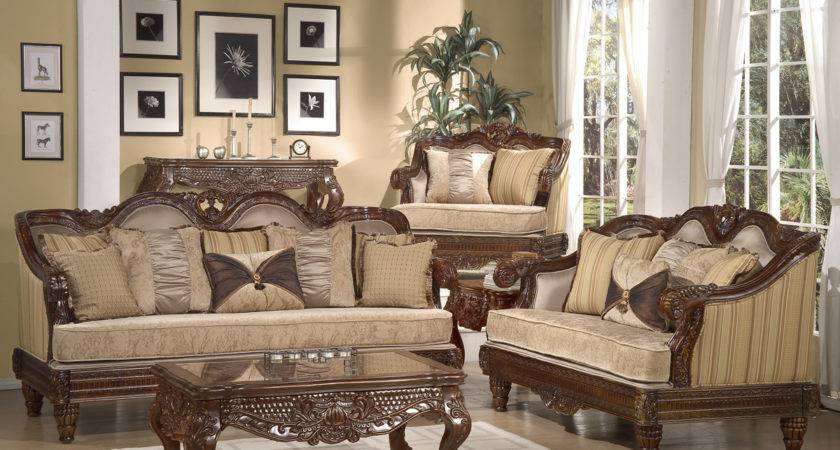 Formal Luxury Set Traditional Living Room Furniture