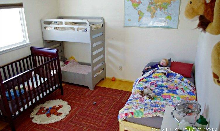 Four Kids Sharing One Room Part Smallish