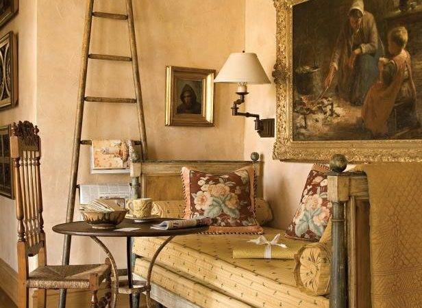 French Country Inspired Sitting Room Hgtv