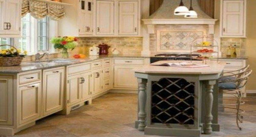 French Country Kitchen Best Galley Kitchens