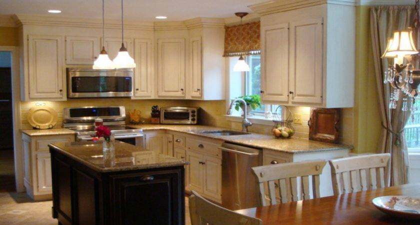 French Country Kitchen Lighting Style