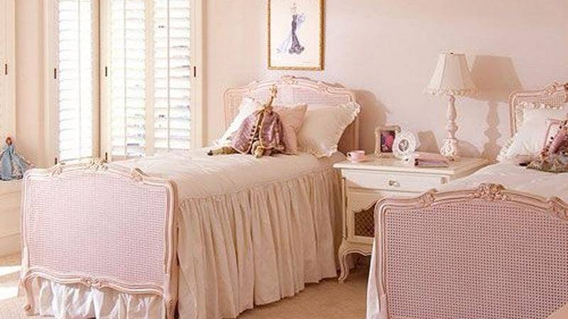 French Inspired Bedrooms Girls Rilane