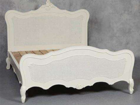 French Shabby Chic Bed King Antique