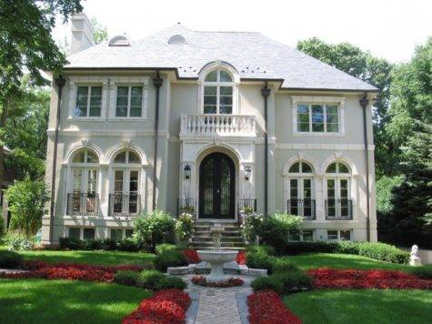 French Style Homes Architecture Home Interior Design