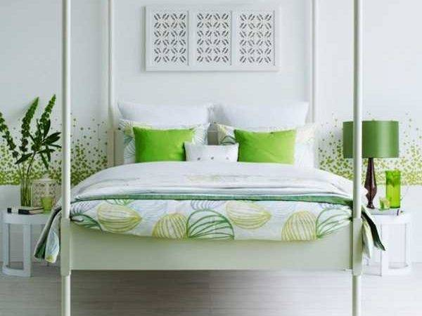 25 Inspiring White And Green Bedrooms Photo Little Big Adventure