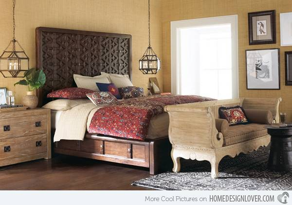 Fun Bohemian Style Bedroom Designs Decoration House