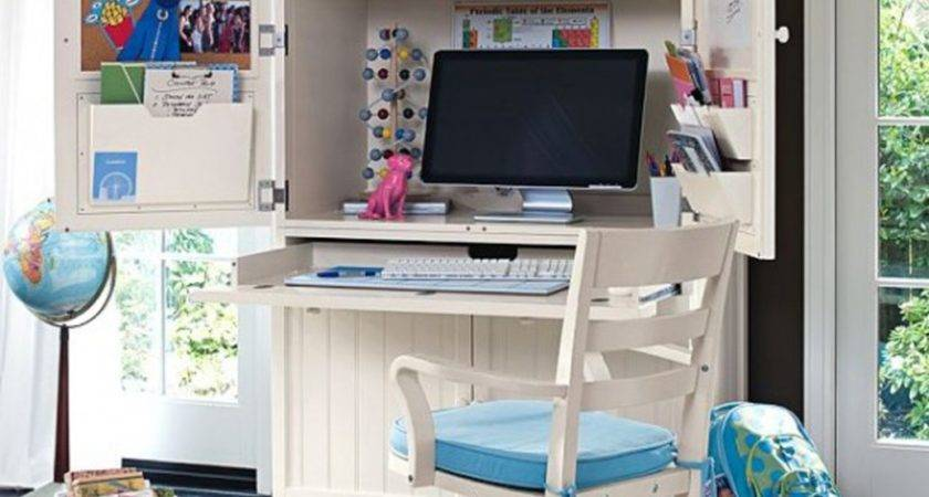 Functional Study Table Design Interior