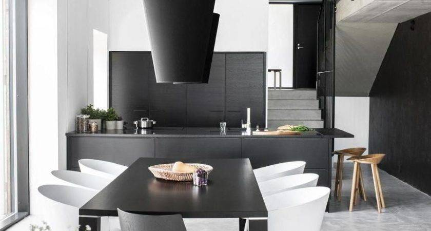 Furniture Black White Dining Room Chairs Marceladick
