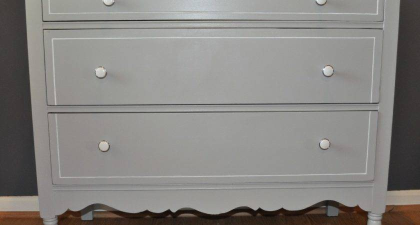Furniture Gorgeous Bedroom Decoration Using Drawer Gray