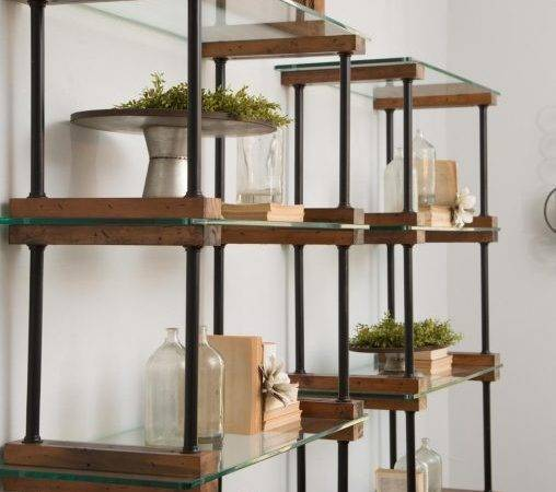 Furniture Styled Dining Room Shelving Wood Grain