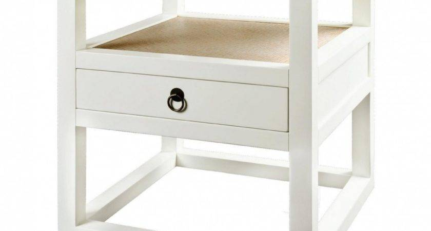 Furniture Unique Bedside Table Ideas Contemporary