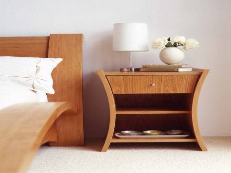 Furniture Unique Design Bedside Table Ideas Best Designs