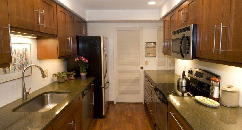 Galley Kitchen Designs Implementing