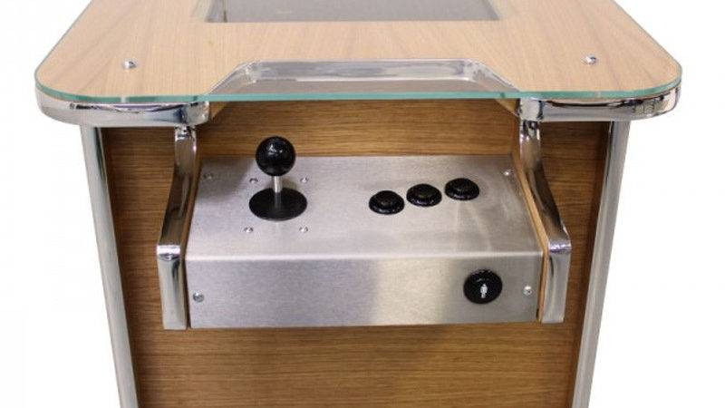 Gamepro Coffee Table Arcade Machine Oak Delivery