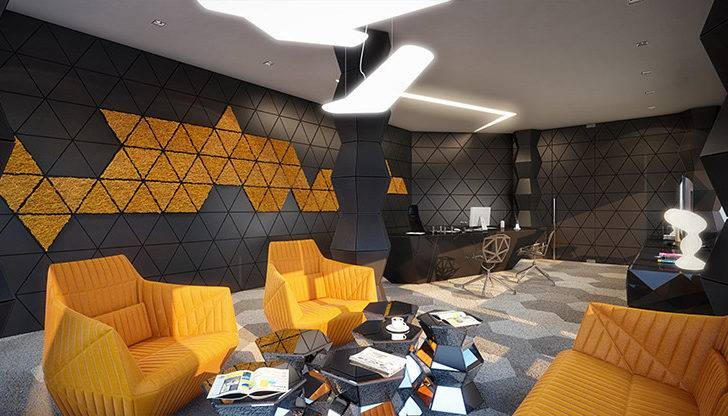 Geometric Design Interior