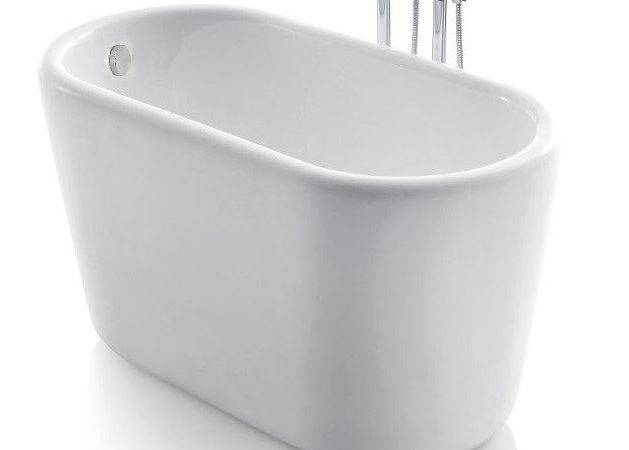 Giano Acrylic Modern Freestanding Soaking Bathtub