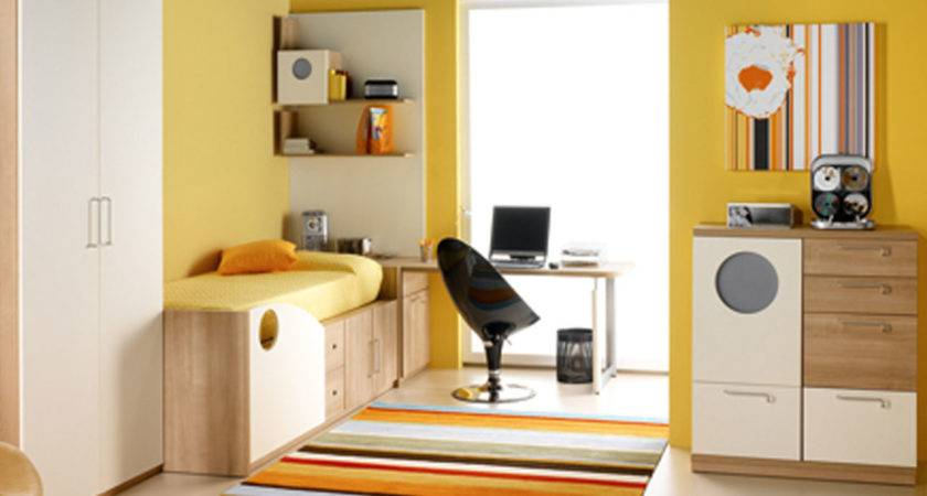 Girls Bedroom Decorating Ideas Yellow Wall Paint