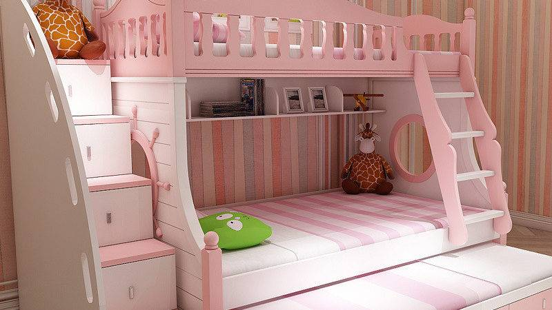 Girls Bunk Bed Angels Peace