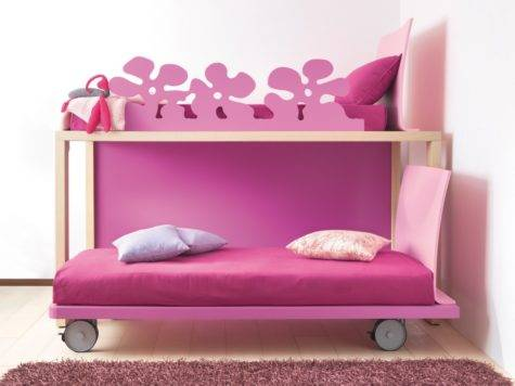 Girls Bunk Beds Casual Cottage