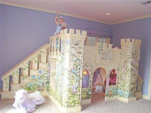 Girls Princess Castle Bed Beds New York