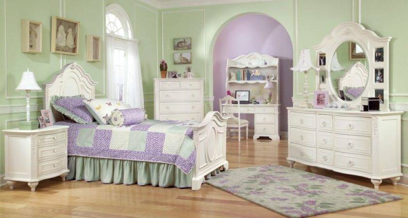 Girls White Bedroom Furniture Collections Design