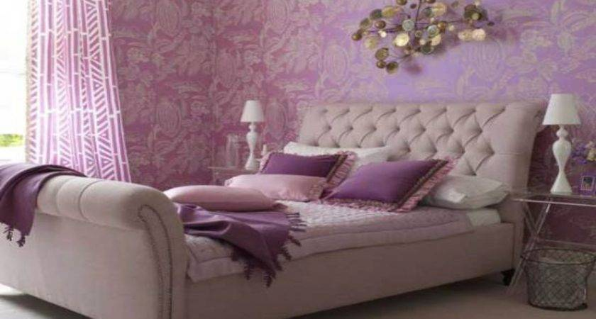 Glamorous Bedrooms Lilac Lavender Purple Bedroom Blue