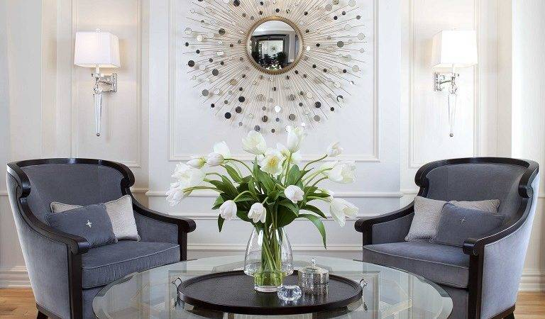 Glamorous Modern Living Room Before After Robeson