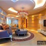 Glamourous Modern French Living Room Design