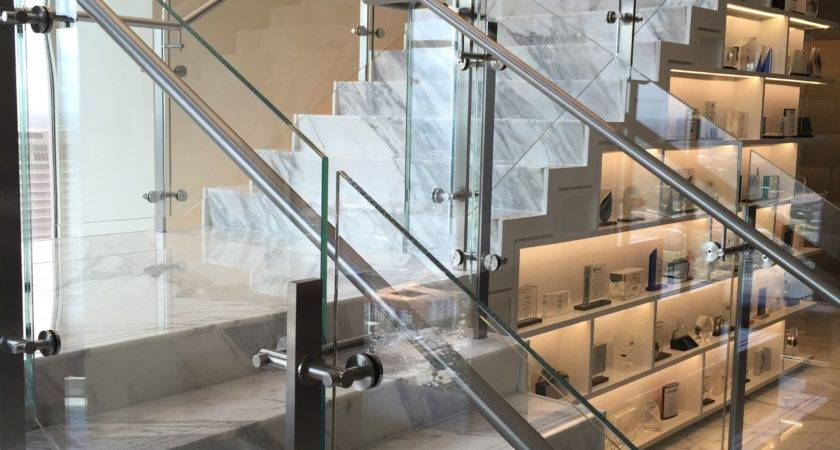 Glass Railing Stainless Steel Clamps Modern