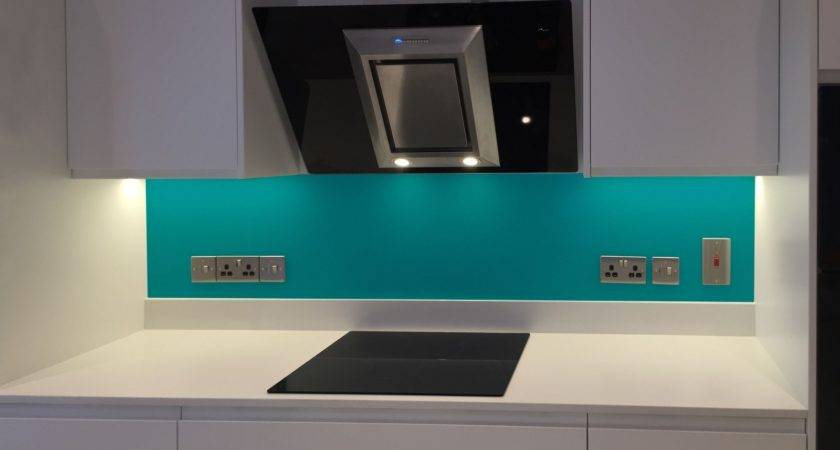 Glass Satin Brushed Splashbacks Any Colour