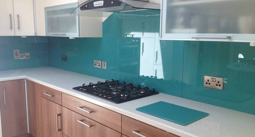 Glass Splashbacks Kitchen Modern London