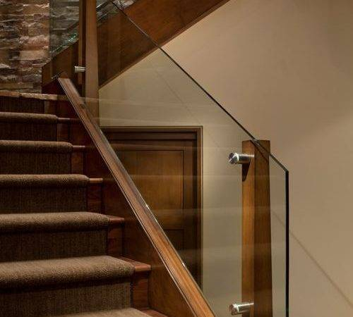 Glass Stair Railing Home Design Ideas Remodel