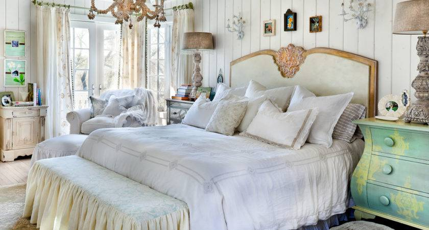 Glorious Shabby Chic French Country Bedding Decorating