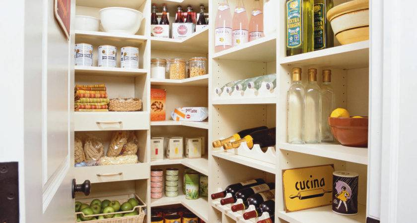 Glorious Standing Kitchen Pantry Decorating Ideas