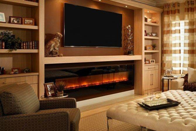 Glowing Electric Fireplace Wood Hearth Mantel