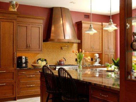 Gold Red Paint Ideas Remodel Decor