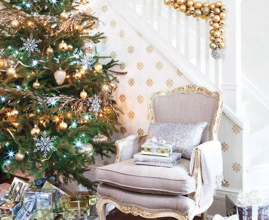 Gold Silver New Year Decorating Trendy Tree Blog